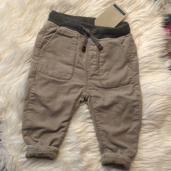 Size 12-18 Months Zara Baby Boy Corduroy Grey Trousers Baby & Toddler Clothing Bottoms